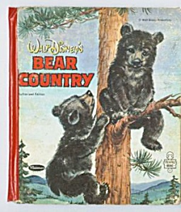 WALT DISNEY'S BEAR COUNTRY Tell-A-Tale Book (Image1)