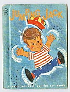 Jumping Jack Jr. Elf Book