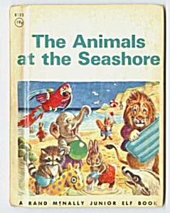 ANIMALS AT THE SEASHORE Jr.  Elf Book (Image1)