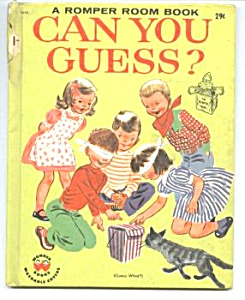 ROMPER ROOM CAN YOU GUESS? Wonder Book (Image1)