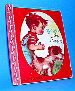 Bounce The Puppy Tiny Book - 1948