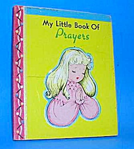 My Little Book Of Prayers Tiny Book - 1948