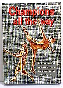 Champions All The Way Whitman Book - 1960