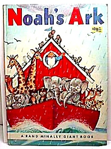 Noah's Ark Rand Mcnally Giant Book 1961