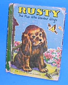 Rusty Pup Who Wanted Wings Classic Bk-1939