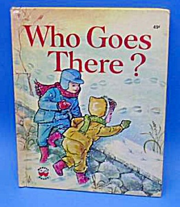 Who Goes There? - Wonder Book - 1975