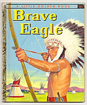 Brave Eagle - Little Golden Book