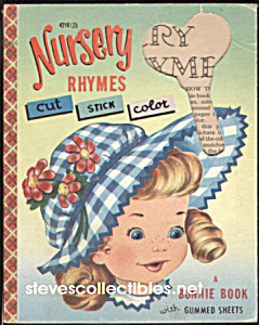 NURSERY RHYMES Cut Stick Color - Bonnie Book-1953 (Image1)