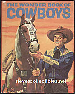 Wonder Book Of Cowboys - 1956