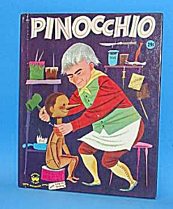 Pinocchio Wonder Book - 1954