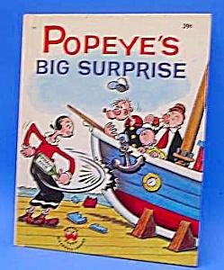 POPEYE BIG SURPRISE - Vintage Wonder Book (Image1)