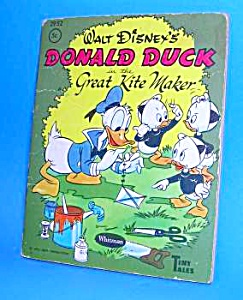 Disney DONALD DUCK Great Kite Maker Tiny Tales Bk-1959 (Image1)