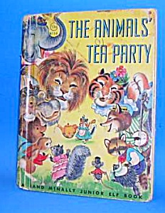 THE ANIMALS' TEA PARTY Jr. ELF BOOK (Image1)