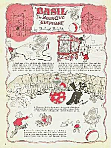 1944 CIRCUS STORY Magazine Comic Page (Image1)