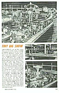 1955 Tiny Carnival Sherman, Tx Mag. Article