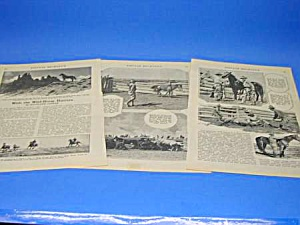 1926 WILD HORSE HUNTERS/COWBOY Mag. Article (Image1)