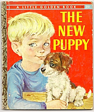 THE NEW PUPPY Little Golden Book (Image1)