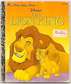 Disney The Lion King Little Golden Book