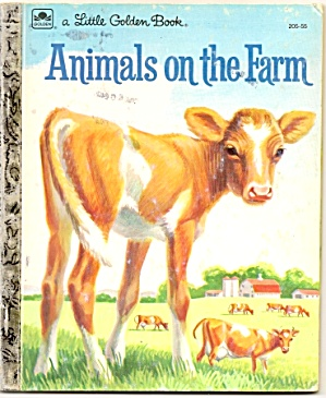 ANIMALS ON THE FARM - Little Golden Book (Image1)