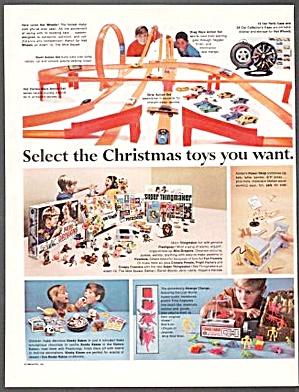 1968 Hot Wheels Barbie Thingmaker Mrs Beasley+toy Ad