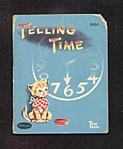 Telling Time Tiny Tales Book - 1959