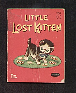 1949 Little Lost Kitten Tiny Tales Book