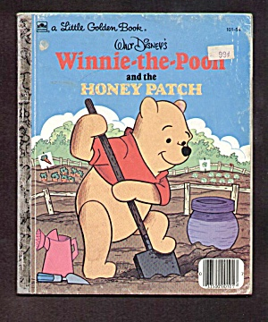 Winnie-the-pooh And The Honey Patch Little Golden Book