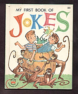 My First Book Of Jokes-wonder Book-1962