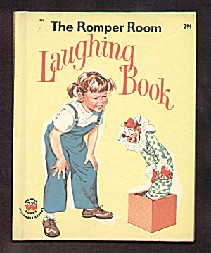 Romper Room Laughing Book Wonder Book - 1963