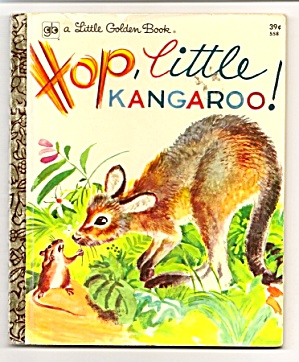 Hop, Little Kangaroo Little Golden Book