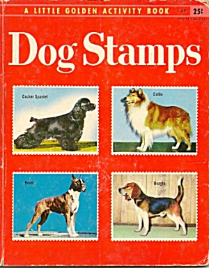 DOG STAMPS -  Little Golden Book - 1955 (Image1)