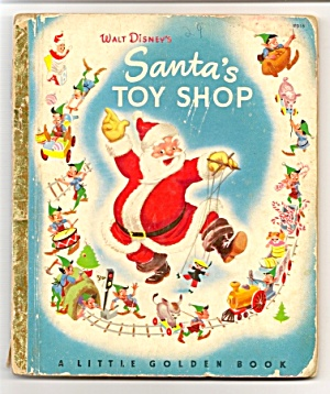 Disney SANTA TOY SHOP Little Golden Book (Image1)