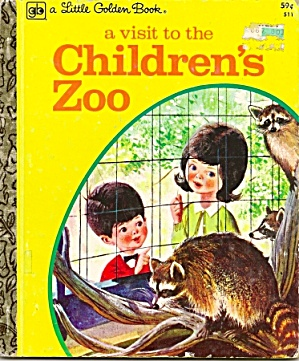 A Visit To The Children's Zoo - Little Golden Book