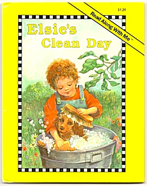 ELSIE 'S CLEAN DAY - Read along with Me Book (Image1)