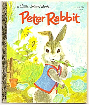 PETER RABBIT Little Golden Book (Image1)