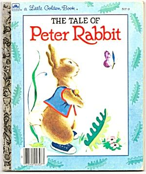 THE TALE OF PETER RABBIT Little Golden Book (Image1)