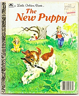 THE NEW PUPPY - Little Golden Book (Image1)