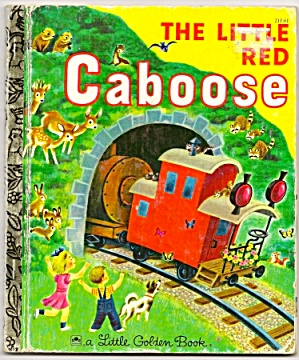 Little Red Caboose - Little Golden Book