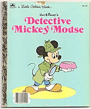 Detective Mickey Mouse - Little Golden Book