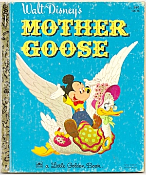 WALT DISNEY'S MOTHER GOOSE - Little Golden Book (Image1)