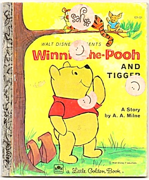 Winnie The Pooh And Tigger - Little Golden Book