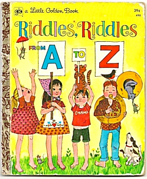 Riddles, Riddles From A To Z - Little Golden Book
