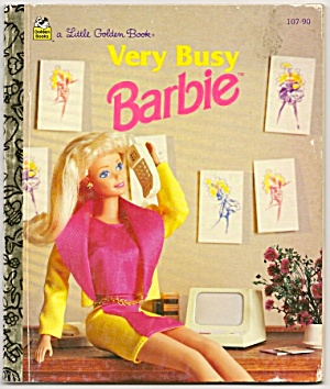 Very Busy Barbie - Little Golden Book