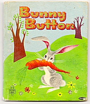 BUNNY BUTTON -- Tell-A-Tale Childrens Book (Image1)