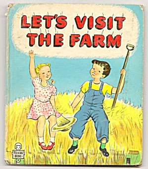 LET'S VISIT THE FARM - Tell-A-Tale Book (Image1)