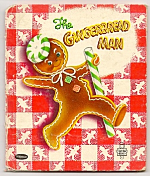 GINGERBREAD MAN - Tell-A-Tale Book - 1953 (Image1)