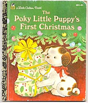 THE POKY LITTLE PUPPYS 1ST CHRISTMAS Little Golden Book (Image1)