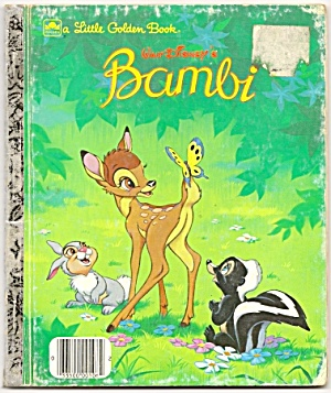 Bambi - Disney Little Golden Book