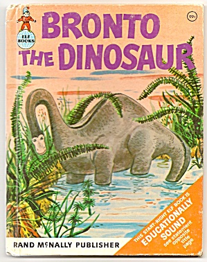 BRONTO THE DINOSAUR Elf Book (Image1)