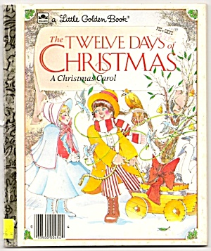 Twelve Days Of Christmas - Little Golden Book